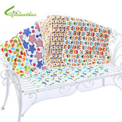 Cotton Baby Diaper Nappy Urine Mat Waterproof Bedding Changing Cover Reusable