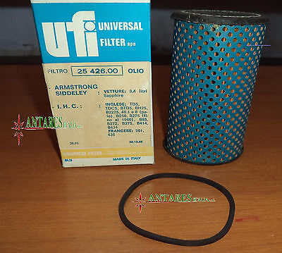 Filtro Olio Ufi 25.426.00 Armstrong Siddeley Sapphire/td5-Tdc5-Btd5-201-435