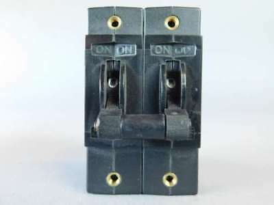 Tyco Electronics 2-Pole, Toggle Mag Circuit Breaker W92-X112-10 - NEW Surplus!