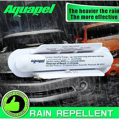 2017 AQUAPEL Applicator Windshield Glass Treatment Water Rain Repellent Repels