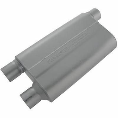 "Flowmaster 42583 80 Series Crossflow Muffler, 2.50"" IN (O)/OUT (D), 4x9 16 Gauge"