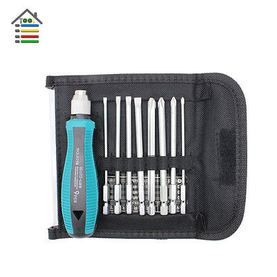 9pcs Precision Hex Screwdriver Bits Set Tools Phillips Screw Driver Screwdrivers