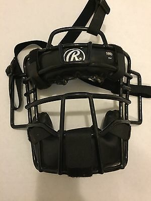 Rawlings Adult Protective Face Mask Baseball Softball Umpire Catcher Adjustable