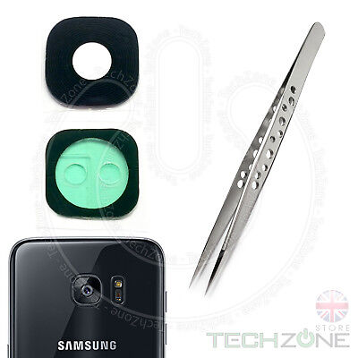 SAMSUNG Galaxy S7 G930 G930F Rear Back Camera Real Glass Lens With + TOOLS