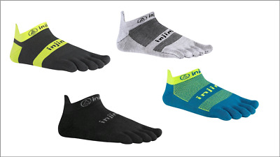 Injinji Lightweight Run Performance 2.0 No Show Ultra Thin Coolmax socks