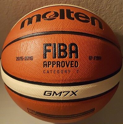 Molten GM7X Basketball (BGM7X) Composite Leather FIBA Approved Size 7 - 29.5