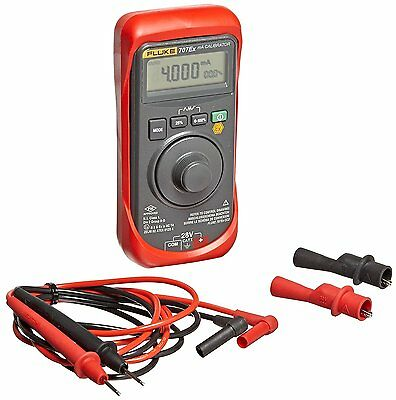 Fluke 707EX Intrinsically Safe MA Loop Calibrator, 28V Voltage, 24mA Current,
