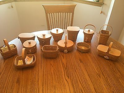Longaberger Baskets collectors items