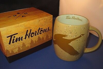 Tim Hortons 2016 Limited Edition Series GOOSE Coffee Mugs with box
