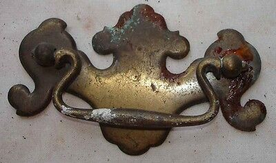 ANTIQUE VINTAGE LOT OF 1 METAL DRAWER CABINET PULL HANDLE KNOB n
