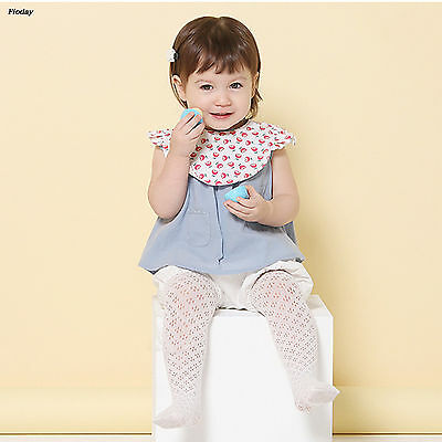 Fashion Kids Baby Pants Girls Fall Pantyhose Cotton Plain Toddler Tights Gift
