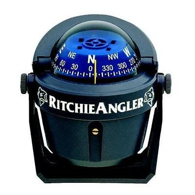 Ritchie RA-91 Angler Compass - Easily Adjustable Bracket Mount w/Thumb-Screws