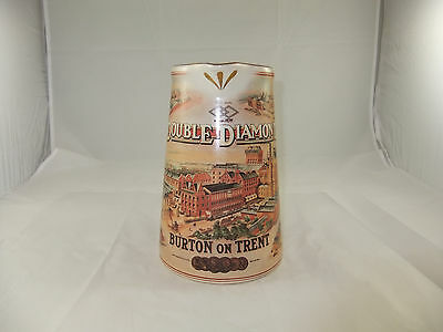 Double Diamond Beer Burton Upon Trent Staffordshire Pitcher Pub Jug