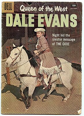 Queen of the West Dale Evans 16 Sep 1957 VG (4.0)