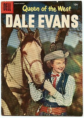 Queen of the West Dale Evans 10 Mar 1956 VG+ (4.5)