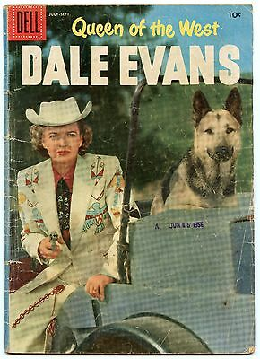 Queen of the West Dale Evans 12 Sep 1956 VG- (3.5)