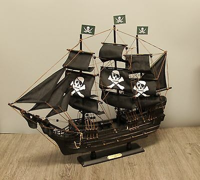 """24"""" Wicked Wench Pirates of The Caribbean Jack Sparrow Wood Vintage Model Ship"""