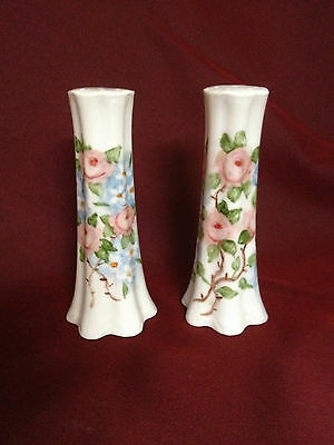 Vintage Hand Painted Salt and Pepper Shakers