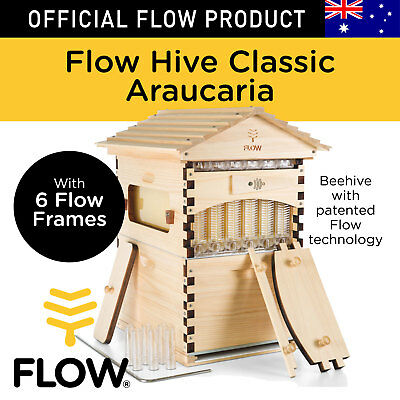 THE ORIGINAL Flow Hive Classic Araucaria 6 Frame Beehive DIY Honey Harvest