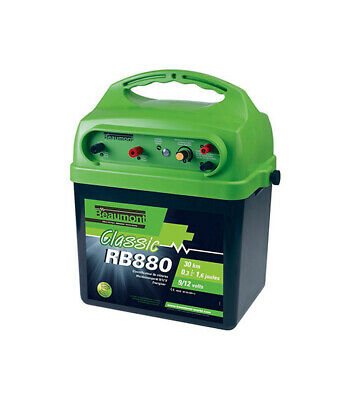 'Classic' Rb 880 9 V/12 v Battery Energiser With Solar Charging Facility