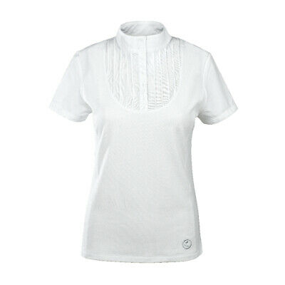 Horze Women's Pleated-Front Technical Shirt - Horse Riding Clothing