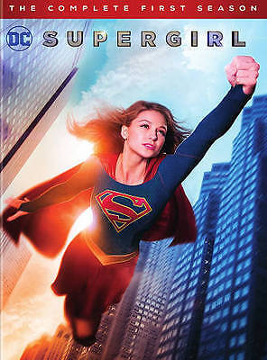 NEW Supergirl: The Complete First Season DVD, 2016, 5-Disc Set Free Shipping
