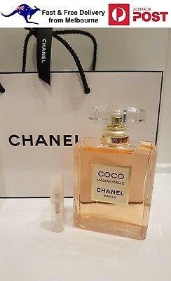 *2018 NEW Launch* COCO MADEMOISELLE INTENSE by Chanel 2ml EDP INTENSE Sample