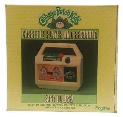 Cabbage Patch Kids Vintage Cassette Player and Recorder 1983 Playtime