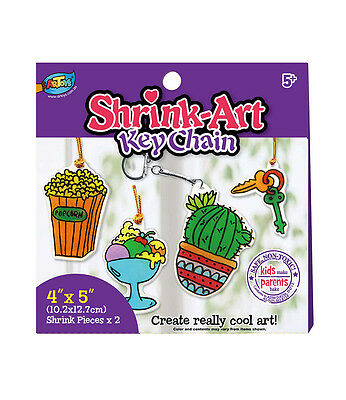 Shrink Art - Key Chain Plastic Shrink Sheets Amazing Magical Craft Bake Your Art