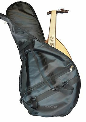 Egyptian OUD Nylon Fabric Padded Soft Case Gig Bag Lightweight GEF by NilCart