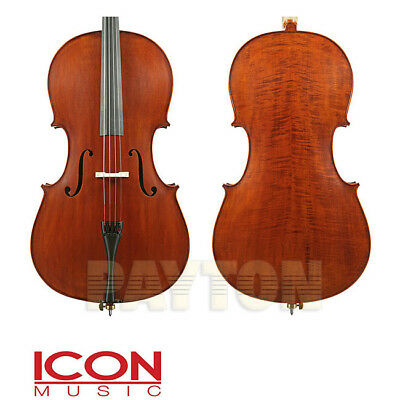 Enrico Student Extra Cello Outfit 1/2 Size