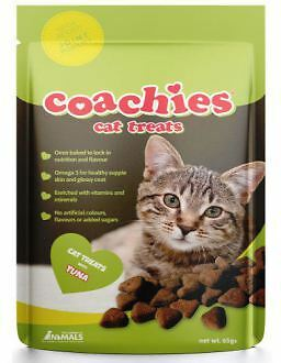 The Company Of Animals Coachies Cat Treats Atún Hairball