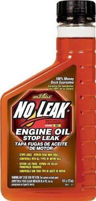 NO LEAK Engine Oil Treatment - Stops Prevents Oil Leaks Drips - Restores Seals