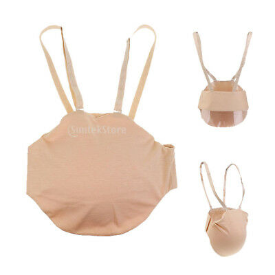 4Pcs Women Adult Belly Stuffer Fake Pregnancy Bump Silicone Belly