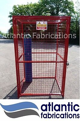GAS CYLINDER CAGE Argon- Propane 12 x BOTTLE - Cage  1800h x 1100w x 900d