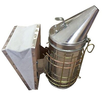 Large Galvanised Smoker with Guard - best value on eBay