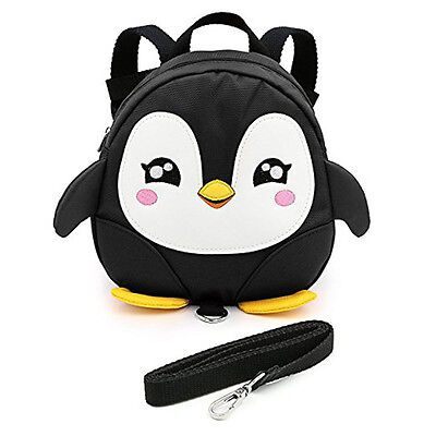 Penguin Baby Toddler Walking Safety Harness Backpack Leash Strap Bags Great 2017