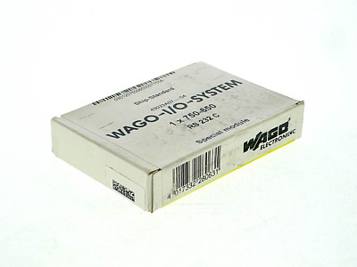 WAGO 750-650 -FS- ; Wago I/O System: RS232 Interface Module