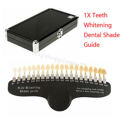 Teeth Whitening Dental Shade Guide Tooth Bleaching For Bleaching Use Stylish