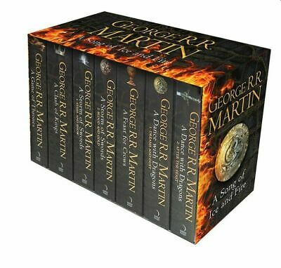 George R R Martin - A Game of Thrones Song of Ice and Fire 7 Books +  Bonus Map