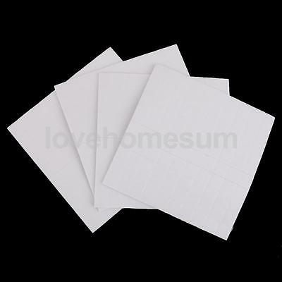 400pcs Double Sided Adhesive Foam Pads Squares Sticky Fixers White 3mm