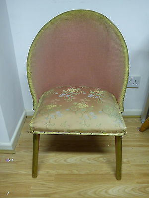 Lloyd Loom Style Antique Bedroom Chair