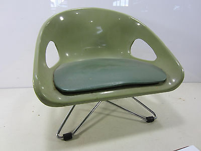 Mid Century Cosco Green Child's Booster Seat
