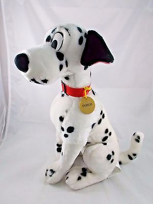 Disney 101 Dalmatians Pongo Plush Dog 15""