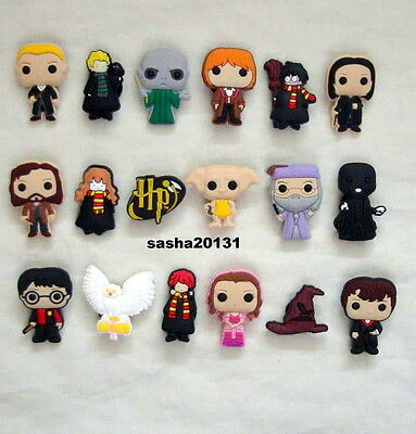 9 X Harry Potter Shoe Charms ,brand New