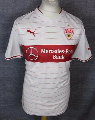 Maxim #44 Vfb Stuttgart Home Football Shirt 12-13 Puma Mens Large