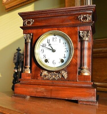 Antique Seth Thomas Early 'cordova' City Series Mantel Clock.