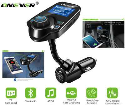 ONEVER T10 Bluetooth FM Transmitter für Car Auto MP3 Player USB Hands-free Call