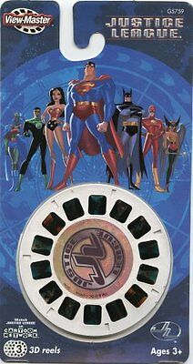 Fisher-Price View Master 3D Reels - Justice League - 3 Reels
