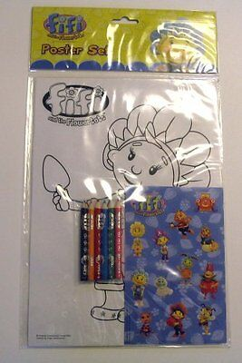Fifi & the Flower Tots Poster Set
